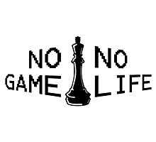 No Game; No Life Photographic Print