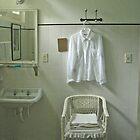 White Shirt Hanging by Josette21