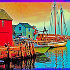 Rockport Motiff  Side View by Ed Immar