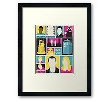 Doctor Who - The Ninth Doctor Framed Print