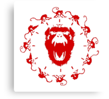 Army of the 12 Monkeys Canvas Print