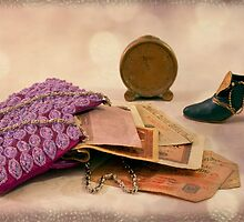 Purse Full Of Money And Lots Of Time  by Sandra Foster