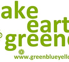 make earth greener by greenblueyellow