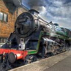 Steam train by WhartonWizard