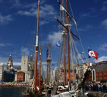 Tall Ships by Colin Shepherd