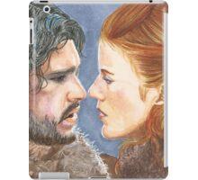 JON SNOW & YGRITTE iPad Case/Skin