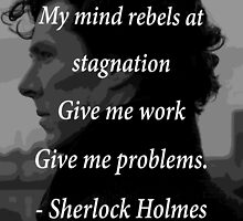 Sherlock Benedict Cumberbatch Quote by ToxicBaker