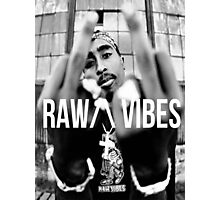 "2Pac ""Raw Vibes"" Photographic Print"