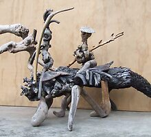 Man from la Mancha---the journey by DriftwoodArt