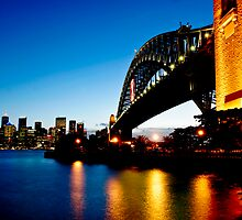 Sydney Sunset 3 by David Mapletoft