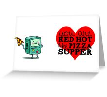 Adventure Time - Beemo/BMO Valentine Greeting Card