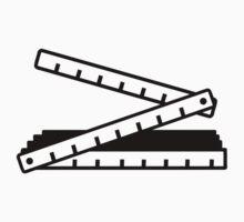 Folding rule yard stick by Designzz