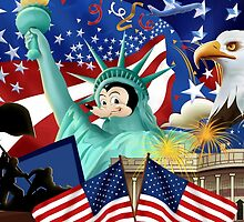 Mickey 'Merica by McMaccleson