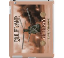 CH-47 Chinook Gulf War Veteran iPad Case/Skin