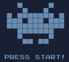 Space Invaders - Arcade Game | Press Start T-Shirt
