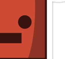 Red Robot (03) Sticker