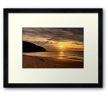 Sands Of Time - Palm Beach - Sydney Beaches - The HDR Series Framed Print
