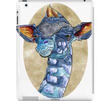 Zen Giraffe - Watercolour iPad Case/Skin