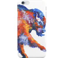 Colorful bison iPhone Case/Skin