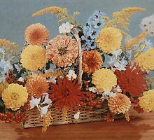 Flower Basket by Edward Denyer
