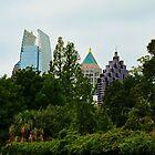 The Midtown Skyline by Scott Mitchell