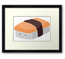 Salmon Nigiri Framed Print