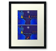 TO MARCH ON Framed Print