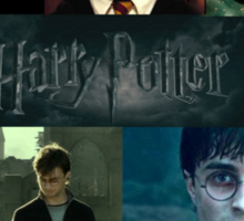 Harry Potter Collage HD Sticker
