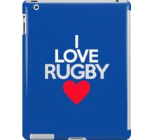 I love rugby iPad Case/Skin
