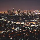 Los Angeles Skyline by Kaitlyn Mikayla
