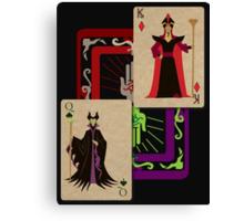 Voodoo Villains-Twin Sorcerers Canvas Print