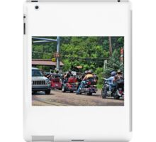 Out for a leisurely ride iPad Case/Skin
