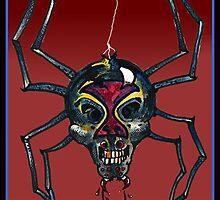 The Black Widow (Illustration)- by Robert Dye