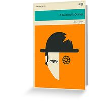 CLOCKWORK ORANGE Greeting Card
