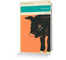 ANIMAL FARM Greeting Card