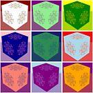 Love Flower Cubes by Mystikka