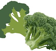 But Broccoli Loves You! by ssddesigns