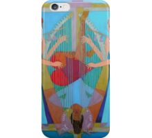 Three of Hearts Divided iPhone Case/Skin