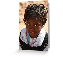 African Child Greeting Card