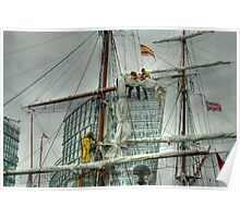 Tall Ships' Race: Liverpool 2008 -4 Poster