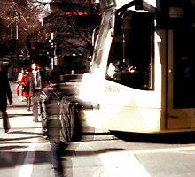 Untitled (Walking in Melbourne II) by sebastian