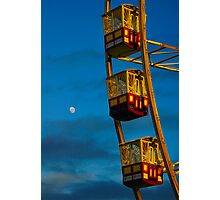 Ride to the Moon Photographic Print