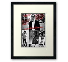 G-Eazy - 'Lyrics' Collage Framed Print