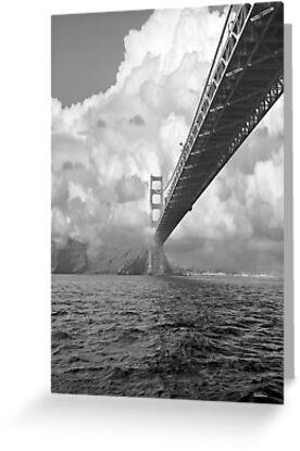 Bridge through clouds by farmdogger