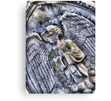 Faceless Angel Canvas Print