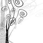 Winter Trees by EggsandScissors
