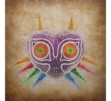 Legend of Zelda - Majora's Mask Weathered Photographic Print