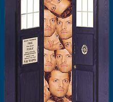 Misha in the Tardis by Diddlys-Shop