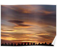 Sunset 1 21-07-08 Poster