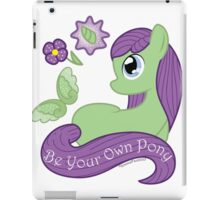Be Your Own Pony (Ladies) iPad Case/Skin
